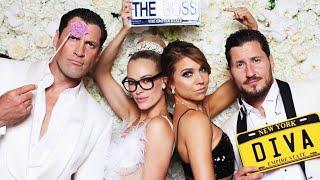 Val Chmerkovskiy and Jenna Johnson's PDA at Maks and Peta's Wedding Was Too Cute!