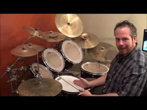 """Drum Lesson - How To Play """"Come As You Are"""" by Nirvana"""