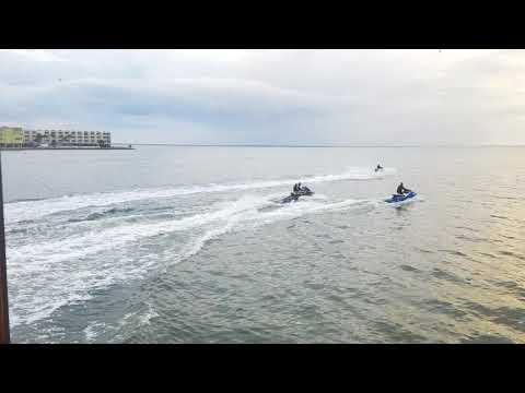 Jet Ski on Davis T. Beach, Tampa, Florida