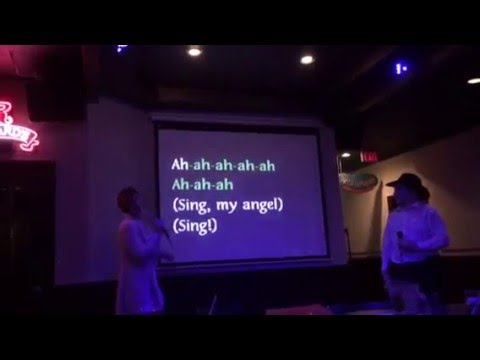 Sparkle and Hawkeye - Phantom of the Opera Karaoke