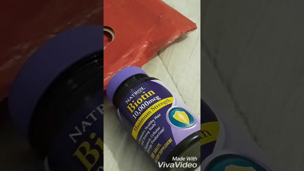 تجاربكم مع فيتامين بيوتين