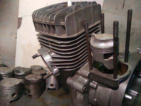 разверни поршень и мотор поедет в 2 раза быстрее