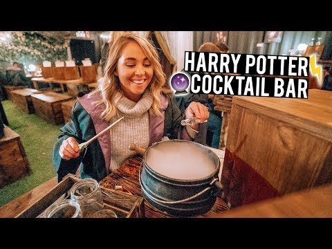 We Went to a Harry Potter Inspired Cocktail Bar in London