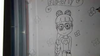 The Amazing Firefly Of Roblox Fna Drawing Video Part 1