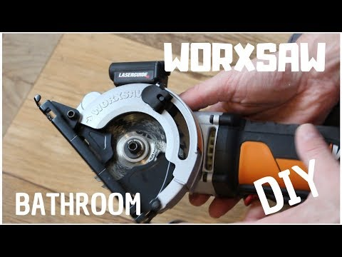 WORX Compact Plunge Saw WORXSAW Review  |   DIY Part 2