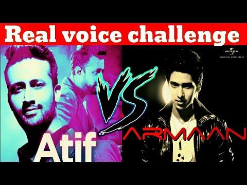 Atif aslam Vs Armaan Malik Challenge ( Original Voice )