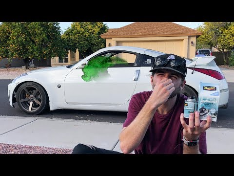 How To Remove GROSS Used Car Smell Fast!