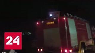 В Белграде произошел мощный взрыв
