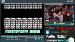 Awesome Games Done Quick 2015 - Part 73 - Super Mario Bros. 3 by mitchflowerpower