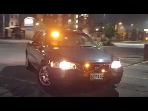 Volvo S60 - Orange/White Light Setup - Roadside Assistance Demo Car