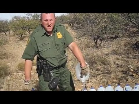Border Guards Dump Out Life Saving Water