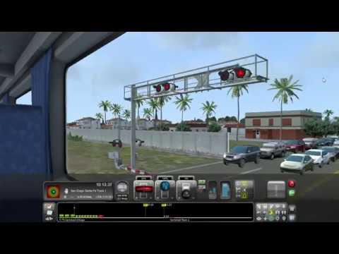 Train Simulator Amtrak Oceanside to San Diego All Stops