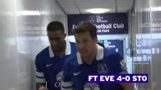 ACCESS GOODISON: Everton v Stoke City - 30 November 2013