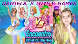 DANIELA juega a: BALLET VS HIP HOP!! GAMEPLAY screenshot 3