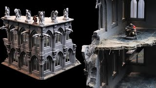 Making the ULTIMATE 40k ruins - 3d printing + scratch building terrain!