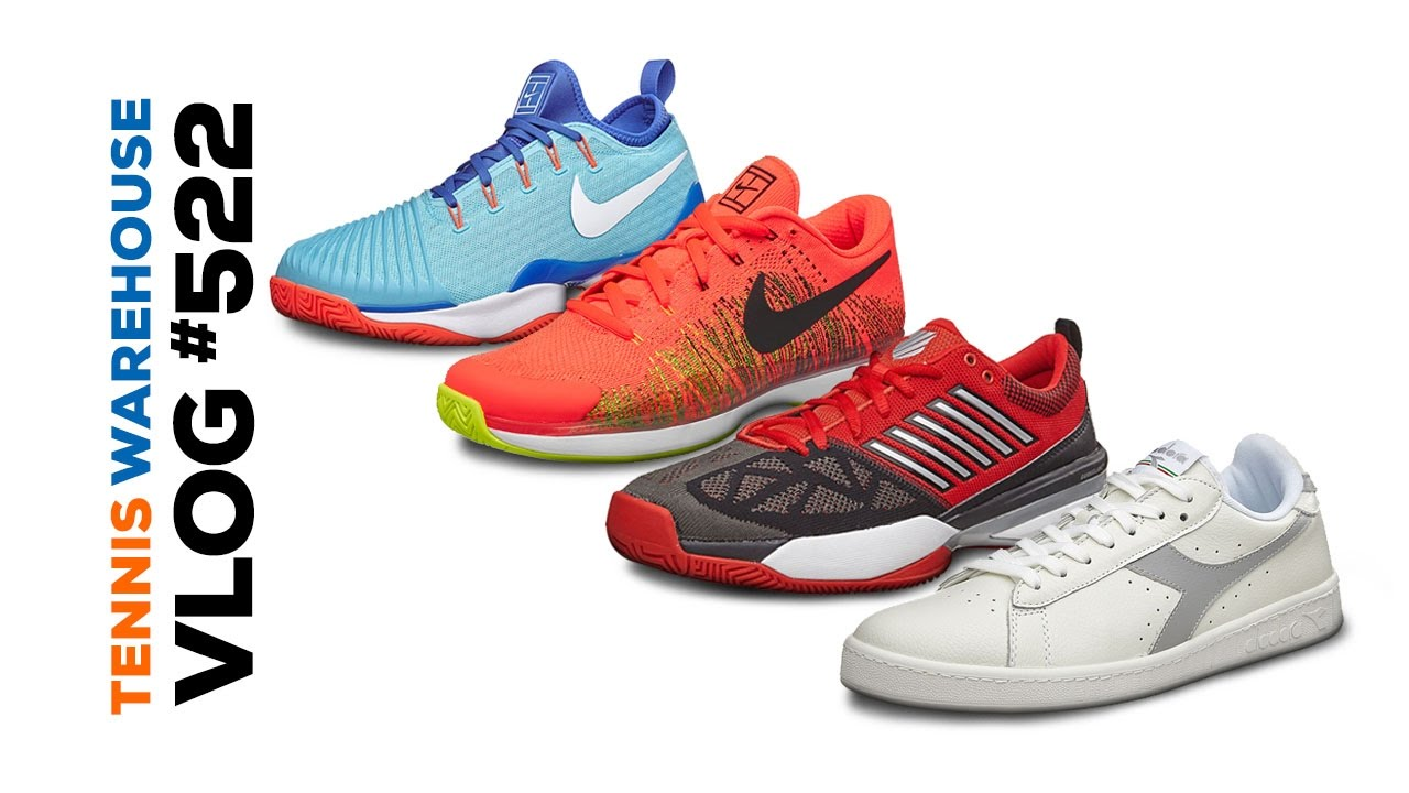 New Nike shoe colors, K-Swiss Knitshot