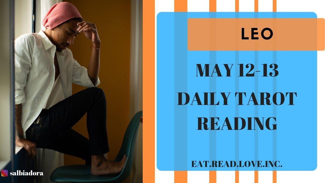 leo daily love tarot