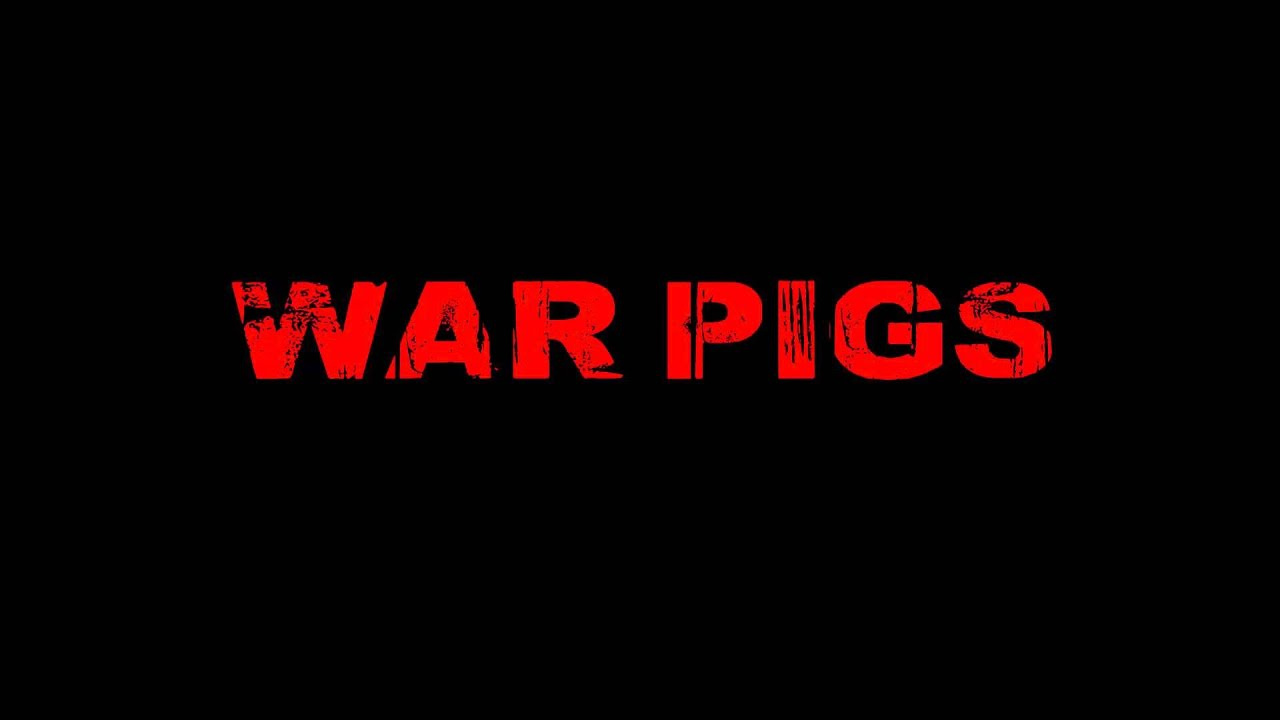 war pigs versus blowin in the Album: paranoid song: war pigs ~ lyrics ~ war pigs generals gathered in their masses just like witches at black masses evil minds that plot destruction s.