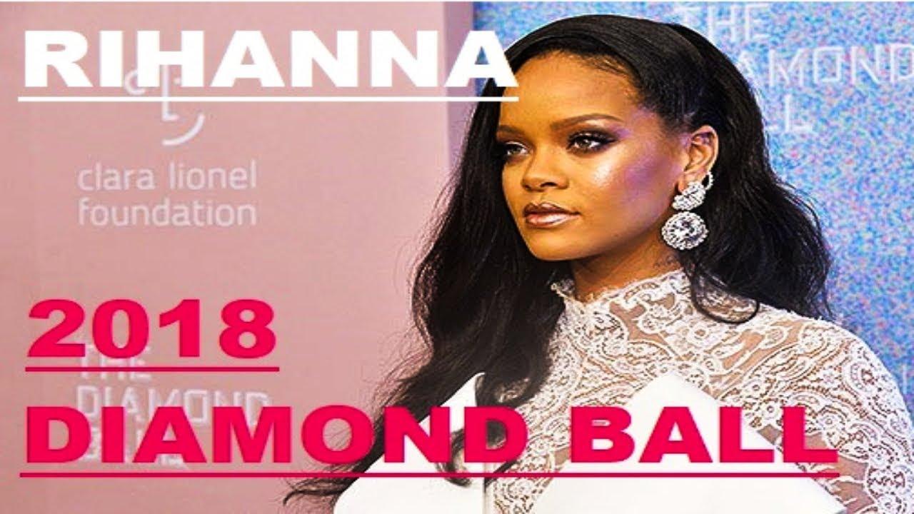 Rihanna 2018 Diamond Ball w/ Gucci Mane, Teyana Taylor ... Meek Mill And Teyana Taylor