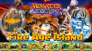 (TEST) Fire Age Island - Monster Legends