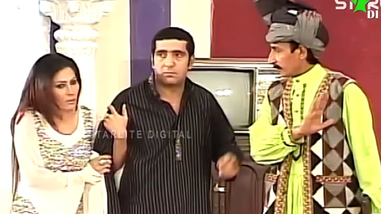 Best Of Zafri Khan and Iftikhar Thakur New Pakistani Stage Drama Full Comedy Funny Clip