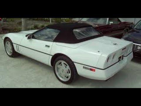 Julie's 1988 C4 Corvette Convertible