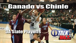 Ganado vs Chinle 3A State Girls Basketball Quater Finals Full Game