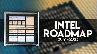 Intel a 7 e 10 nm, con processori 3D!? [Nuova Roadmap 2019 - 2023]