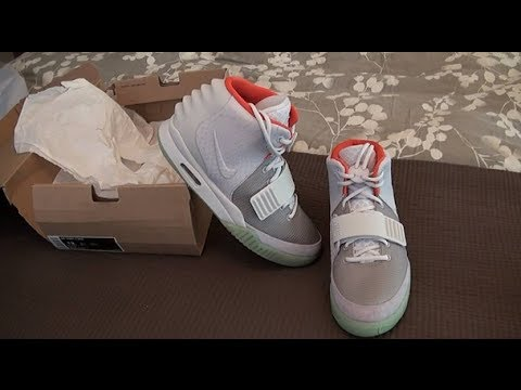 new product a9168 2e7a0 Authentic Nike Air Yeezy 2 Platinum DS EBAY STEAL UNBOXING!!!!! CRAZY  STEAL!!! - YouTube