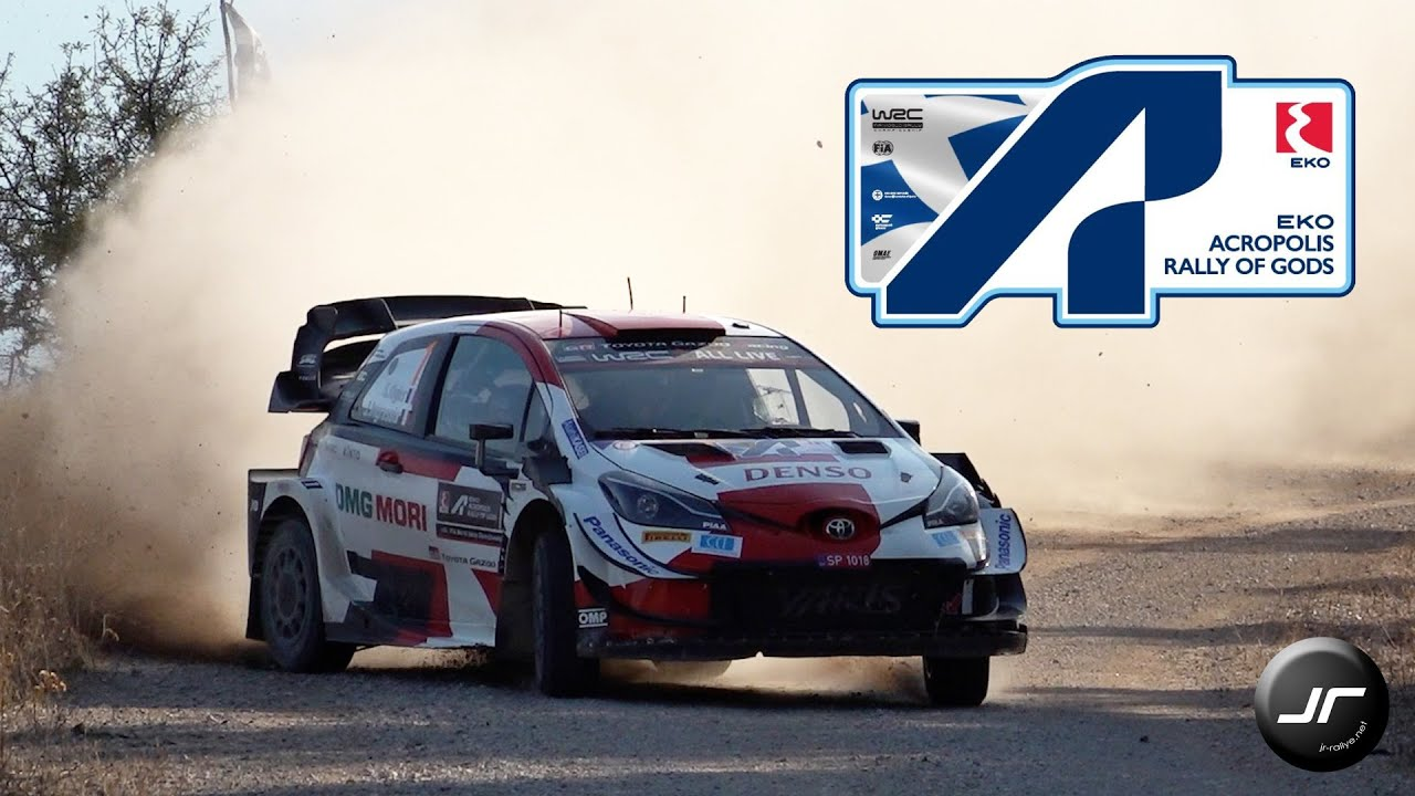 WRC Acropolis Rally Greece 2021 | #WRC | Flat Out & Maximum Attack