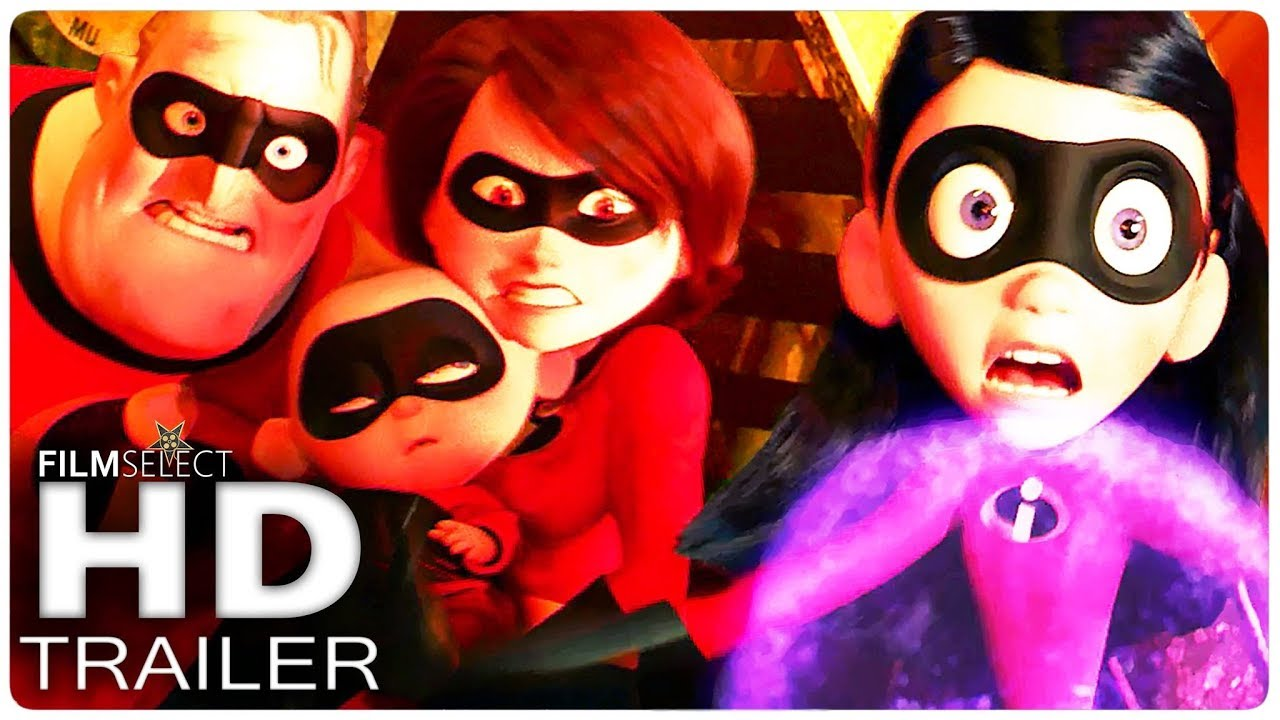 Los Increibles 2 Trailer 3 Español Latino 2018 Youtube