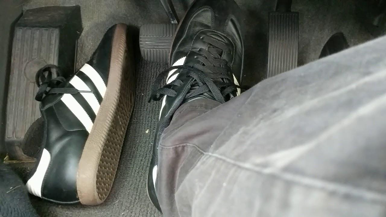 Adidas Samba Shoes - Show And Drive To A Hamburger Joint... - YouTube