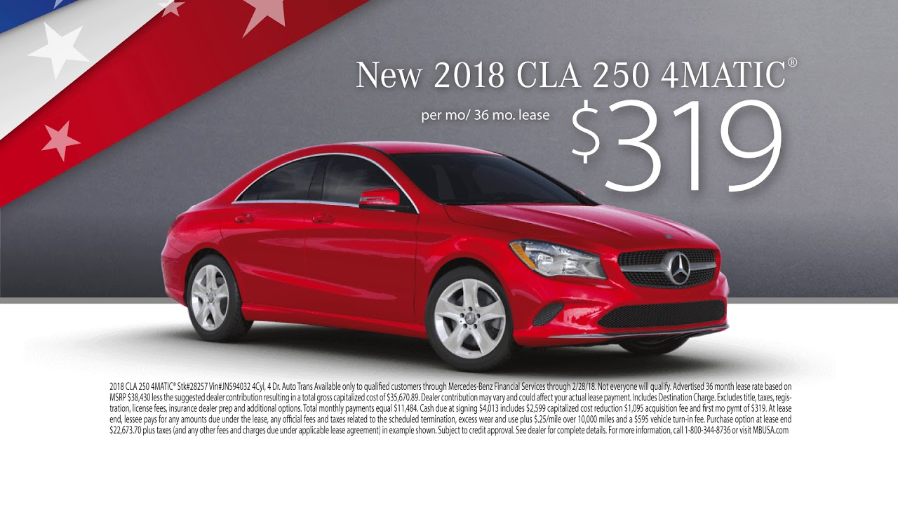 President's Day Sales Event | February 2018 | Mercedes ...