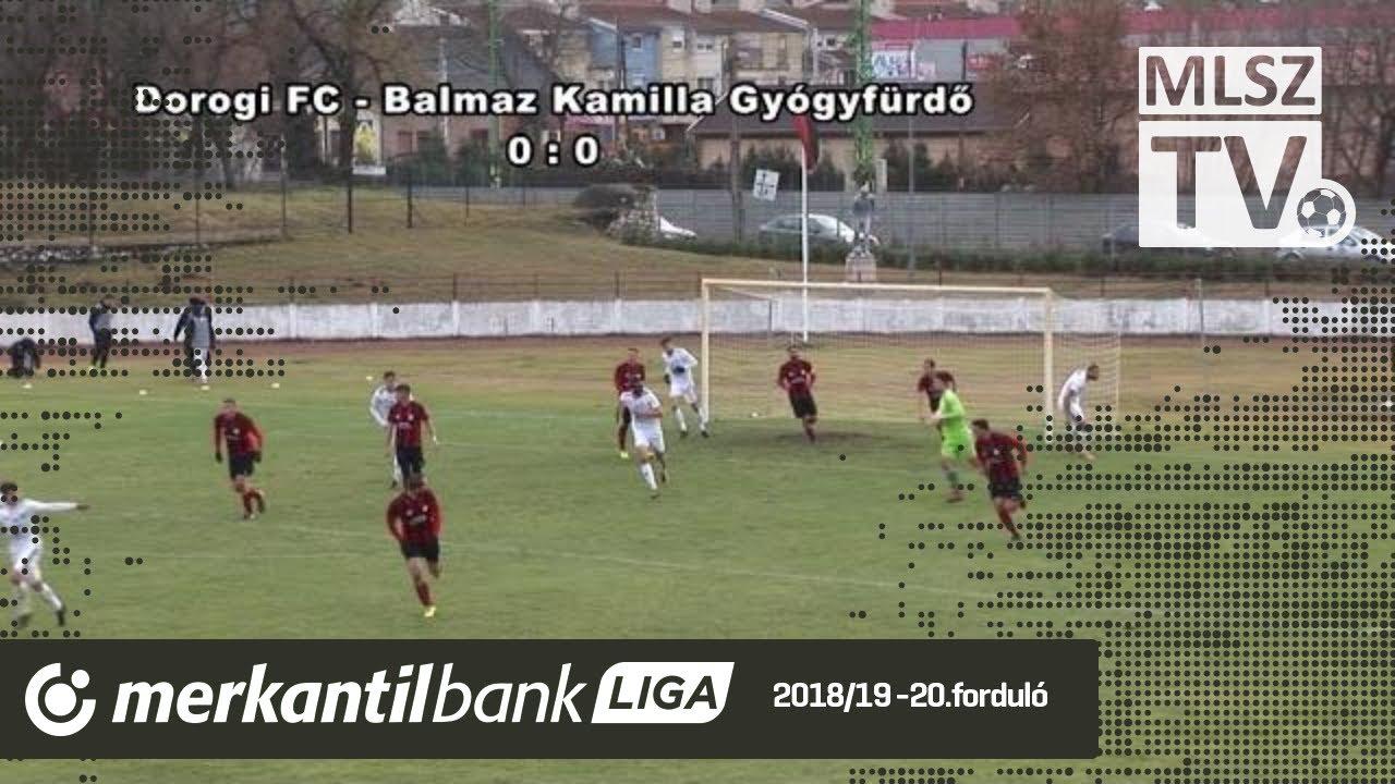 Dorogi FC - Balmaz Kamilla Gyógyfürdő | 0-0 (0-0) | Merkantil Bank Liga NB II.| 20. forduló