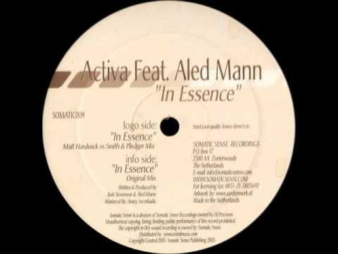 Activa feat. Aled Mann - In Essence (Original Mix)