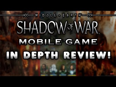 Middle-Earth: Shadow Of War Mobile Game Review - IOS / Android - Mobile Gameplay