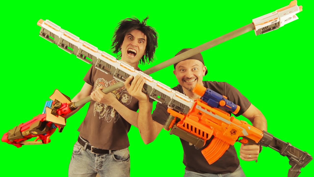 Big Ass Nerf Guns Remix