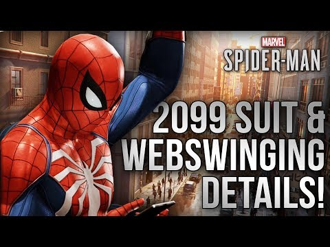2099 Suit Confirmed!? + NEW Extended Web Swinging Gameplay, Mechanics & MORE!! Spider-Man PS4