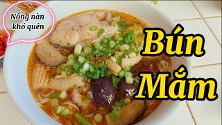 #61  Chiều Chồng Vào Bếp Lần Đầu Nấu Bún Mắm  Vietnamese Seafood Gumbo Recipe