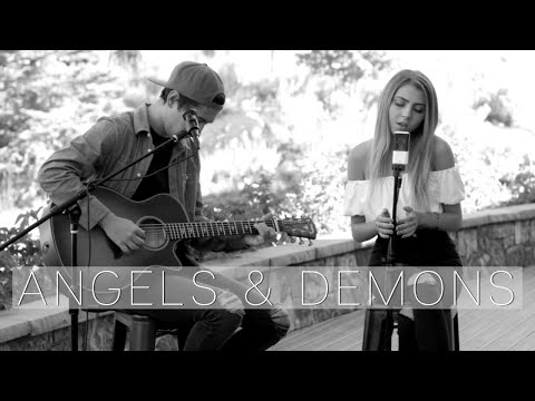 Angels & Demons by jxdn | acoustic cover by Jada Facer ft. Kyson Facer