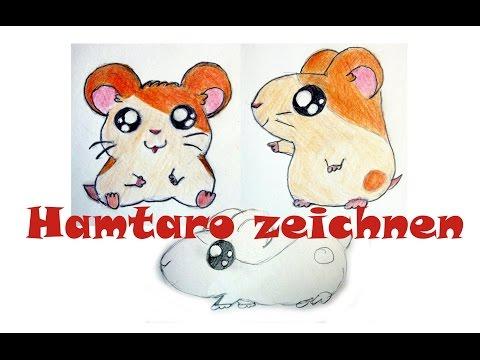 Manga Tiere zeichnen #5: Hamtaro zeichnen / Anime Hamster