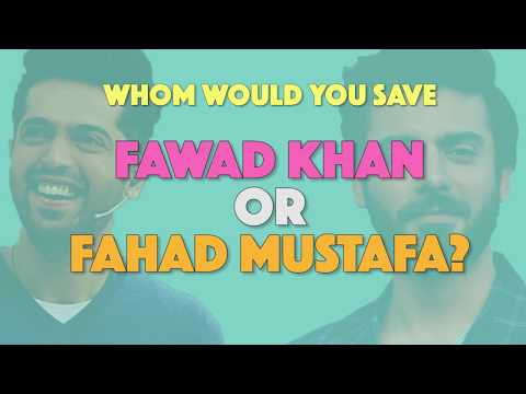 Bolo Pakistan | Choose between Fawad Khan or Fahad Mustafa | MangoBaaz