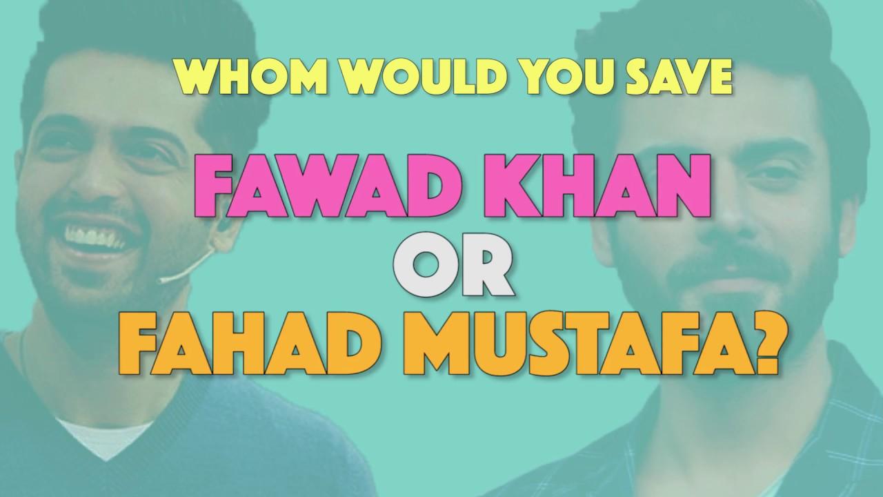 Bolo Pakistan | Choose between Fawad Khan or Fahad Mustafa | MangoBaaz