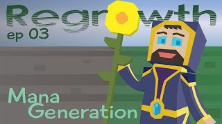 Mana Generation - Ep. 03 - Minecraft FTB Regrowth Modpack [1.7.10]