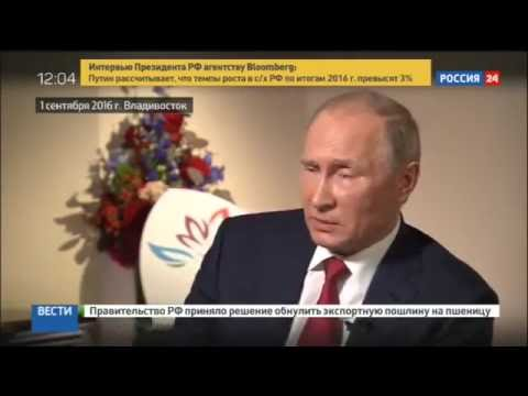 Putin describes what qualities future president of Russia should have
