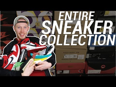 MY ENTIRE SNEAKER COLLECTION: AIR JORDAN, ULTRA BOOST, YEEZY ETC!
