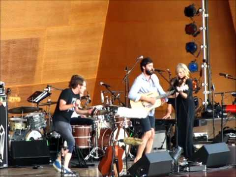 The Head and The Heart @ The Jay Pritzker Pavilion 060611