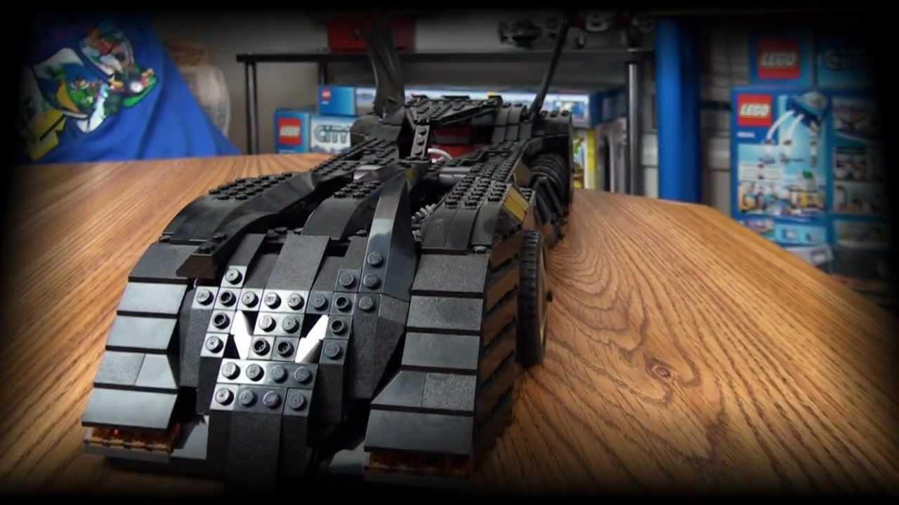 Lego Batmobile Set 7784 Review Youtube