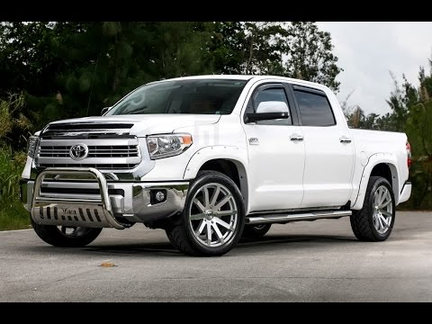 Exclusive Motoring Toyota Tundra on TSW Wheels - YouTube