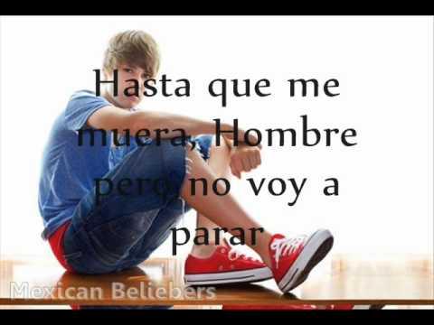 Won't Stop-Justin Bieber & Sean Kingston (Traduccion en español).wmv